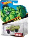 Hot Wheels Marvel Character Cars - Green Hulk