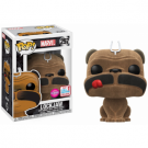 Funko POP! Marvel Inhumans - Lockjaw Flocked Vinyl Figure 10cm 2017 Fall Convention Exclusive FK20835