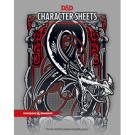 Dungeons & Dragons RPG - Character Sheets - EN WTC36860000