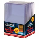 "UP - Toploader - 3 x 4"" Super Thick 180PT (10 pieces)"" 82328"