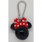 3D Polyresin Keychain - Minnie Mouse (Head) RKR39139