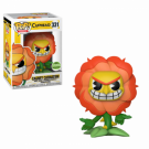 Funko POP! Cuphead - Cagney Carnation Vinyl Figure 10cm ECCC Exclusive FK28459