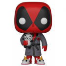 Funko POP! Deadpool Playtime - Deadpool in Robe Vinyl Figure 10cm FK31118