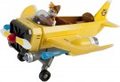 Sonic Boom Tails' Plane with Tails figure
