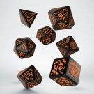 Galda spēle Halloween Pumpkin Black & Orange Dice Set QWSSHAP69