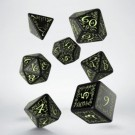 Galda spēle Elvish Black & glow-in-the-dark Dice Set (7) SELV19