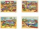 Akros52235 Set Transport Puzzle (4-Piece) /Toys