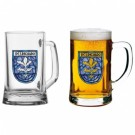 Crusader Kings II Pint Glass - Coat Of Arms GE3354