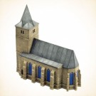 Battlefield In A Box - Bastogne Church BB150