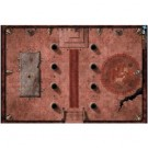 D&D: Vinyl Game Mat - Red Hall of Vor Rukoth 72760