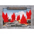 Battlefield in a Box - Blood Crystals - Red - (x6) - 30mm BB541