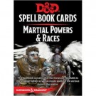 D&D Spellbook Cards - Martial Powers & Races (61 Cards) - EN 73921