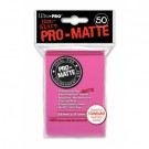 UP - Standard Sleeves - Pro-Matte - Non Glare - Bright Pink (50 Sleeves) 84147