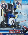 Cap America Face Off Playset