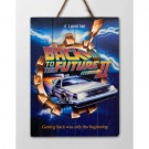 Back to the future Wooden Poster 2 DCBTTF04