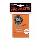 UP - Standard Sleeves - Pro-Matte - Non Glare - Orange (50 Sleeves) 84184