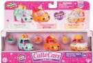 Shopkins - Cutie Cars 3 Pack Series 2 styles vary /Toys
