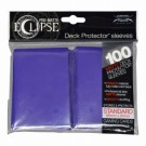 UP - Standard Sleeves - PRO-Matte Eclipse - Royal Purple (100 Sleeves) 85610