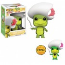 Funko POP! Animation - Hanna-Barbera Touche Turtle Vinyl Figure 10cm Assortment (5+1 chase figure) FK11852-chase