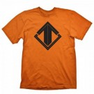 E-sports Special - Escape Gaming T-Shirt Black On Orange - Size XL GE6108XL