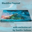 Blackfire Playmat - Svetlin Velinov Edition Island - Ultrafine 2mm BF_PM002