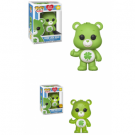 Funko POP! Care Bears - Good Luck Bear Vinyl Figure 10cm Assortment (5+1 chase figure) FK26695case