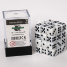 Blackfire Dice Cube - 12mm D6 36 Dice Set - Opaque White 91686