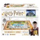 4D Cityscape - Harry Potter and Hogsmead Wizarding World Puzzle 51108