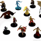 D&D Icons of the Realms Miniatures: Mythic Odysseys of Theros 8ct Brick (Set 16) - EN WZK96004