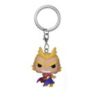 Funko POP! Keychain My Hero Academia - All Might (Silver Age) Vinyl Figure 4cm FK43452