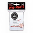 UP - Standard Sleeves - Pro-Matte - Non Glare - White (50 Sleeves) 82651