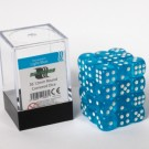 Blackfire Dice Cube - 12mm D6 36 Dice Set - Transparent Light Blue 91697
