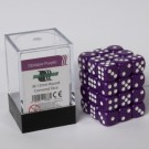 Blackfire Dice Cube - 12mm D6 36 Dice Set - Opaque Purple 91688