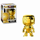 Funko POP! Marvel Studios 10 - Iron Man (Chrome) Vinyl Figure 10cm FK33434