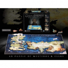 4D Cityscape - Game of Thrones Puzzle of Westeros & Essos 51005