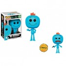 Funko POP! Animation - Rick and Morty Mr. Meeseeks Vinyl Figure 10cm Assortment (5+1 chase figure) FK12441-case