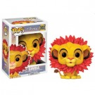 Funko POP! Disney The Lion King - Simba Leaf Mane Vinyl Figure 10cm FK20094