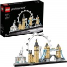 (U) LEGO 21034 Architecture London Skyline Building Set  (Used/Damaged Packaging) /Toys