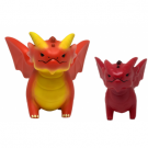 UP - Figurines of Adorable Power: Dungeons & Dragons Red Dragon Assortment (5+1 Limited Edition) 86990case