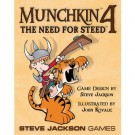 Galda spēle Munchkin 4 - The Need for Steed - EN 1444SJG