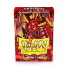Dragon Shield Small Sleeves - Japanese Matte Crimson (60 Sleeves) 11121