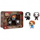 Funko Horror - Pocket POP! Tin #1 feat. Ghostface, Chucky and Saw Billy vinyl figures 4cm FK4869