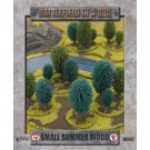 Battlefield In A Box - Small Summer Wood (x1) - 15mm BB542