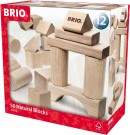 BRIO - 50 Natural Building Blocks 30113