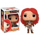 Funko POP! Movies Conan The Barbarian - Red Sonja Bloody Variant Vinyl Figure 10cm limited FK12194