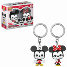 Funko POP! Keychain: Disney 2PK - Mickey & Minnie Vinyl Figures FK36368