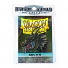 Dragon Shield Small Sleeves - Brown (50 Sleeves) 10111