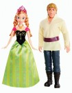 Disney Frozen - Anna and Kristof (BDK35)  Toy - Rotaļlieta