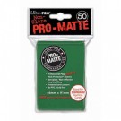 UP - Standard Sleeves - Pro-Matte - Non Glare - Green (50 Sleeves) 82652