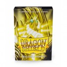 Dragon Shield Small Sleeves - Japanese Matte Yellow (60 Sleeves)